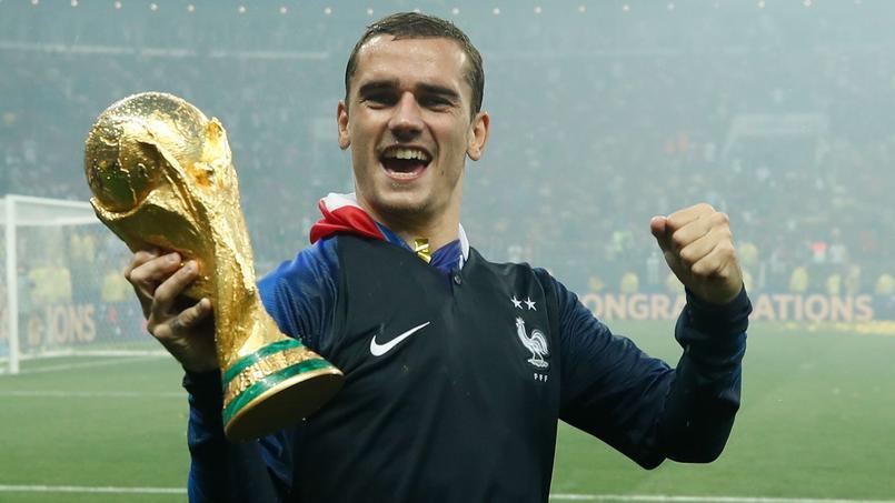 Football - Coupe du monde - Antoine Griezmann invité par le président uruguayen