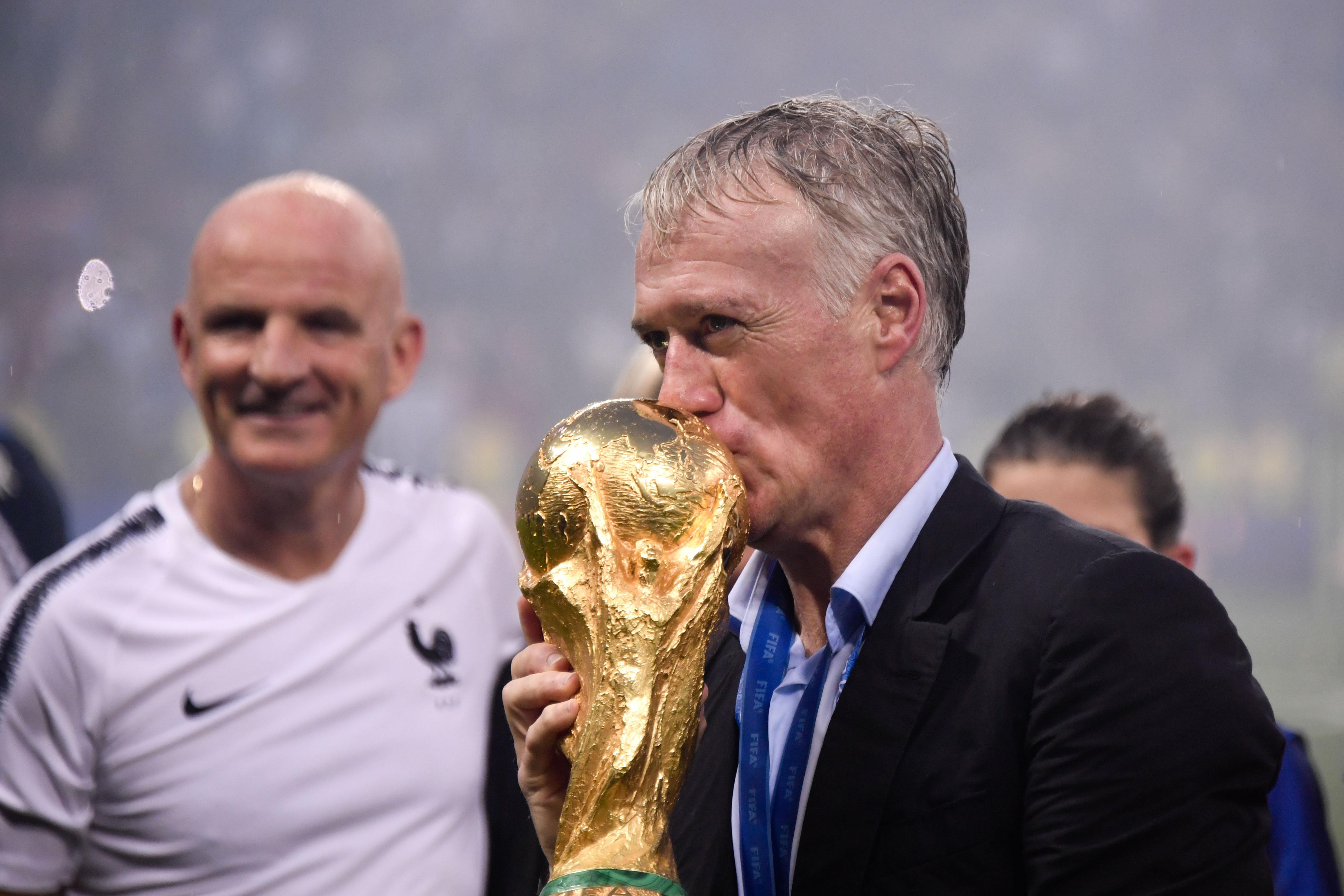 Football - Coupe du monde - Climatisation, Kanté, Poutine... Un an après le sacre des Bleus, Deschamps se confie