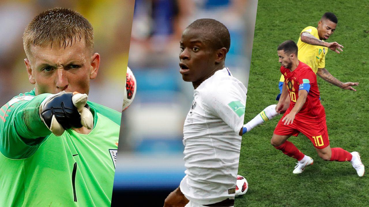 Coupe du monde 2018 l quipe type des quarts de finale russie 2018 coupe du monde football - Finale coupe du monde handball ...
