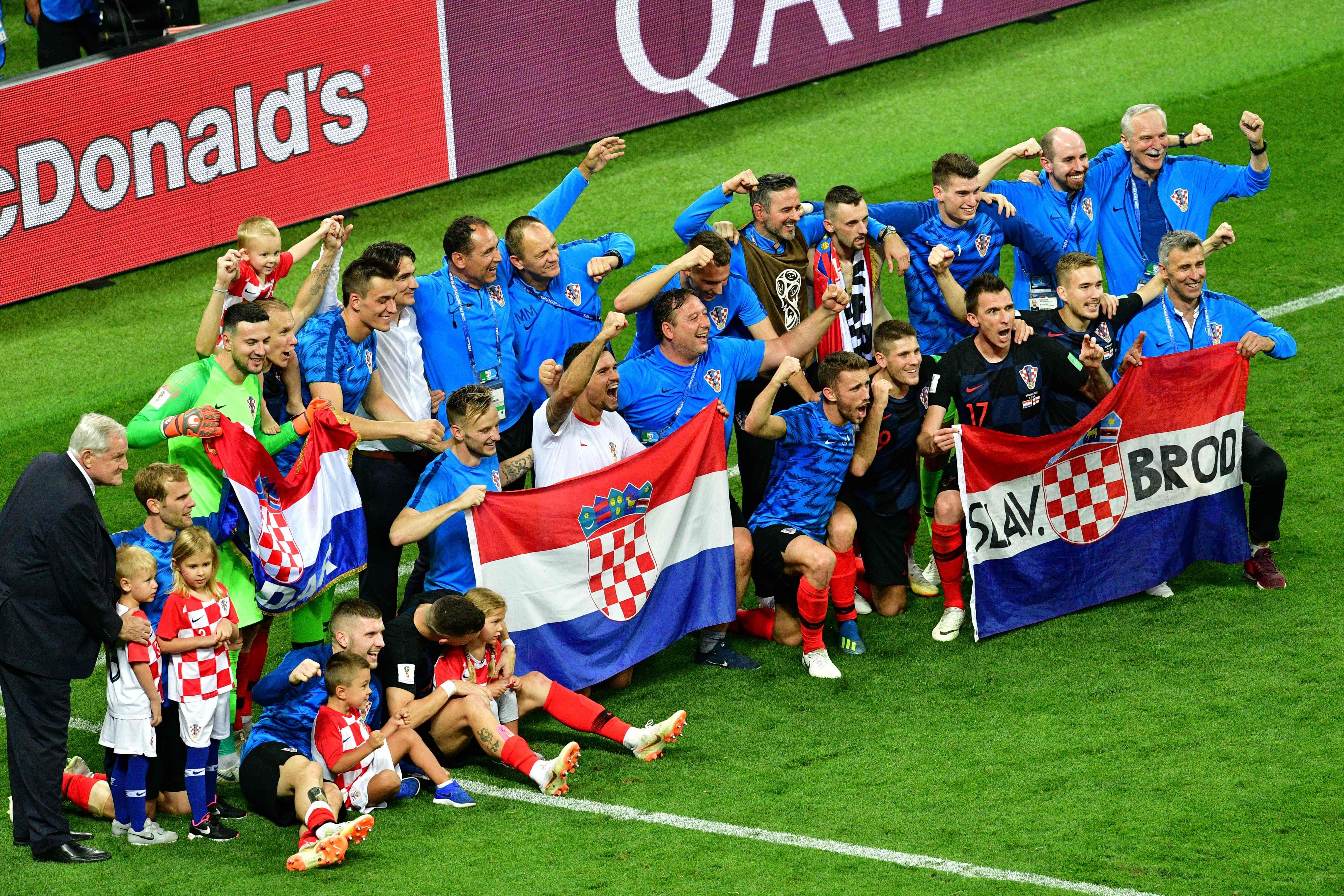 D'une Revanche Rêve Croatie Du 1998 2018 La Coupe Sur Monde U0w7qUY