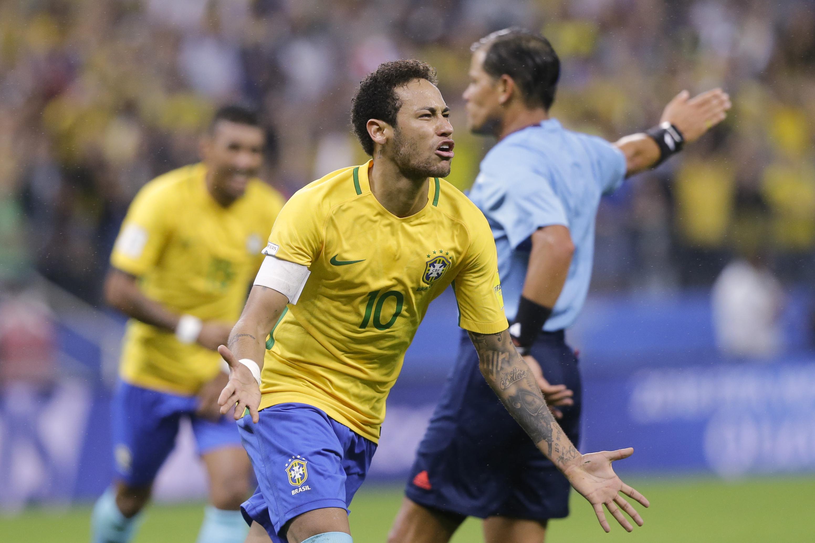 Coupe du monde 2018 le br sil d j qualifi l argentine dans le dur russie 2018 coupe du - Equipe argentine coupe du monde 2014 ...