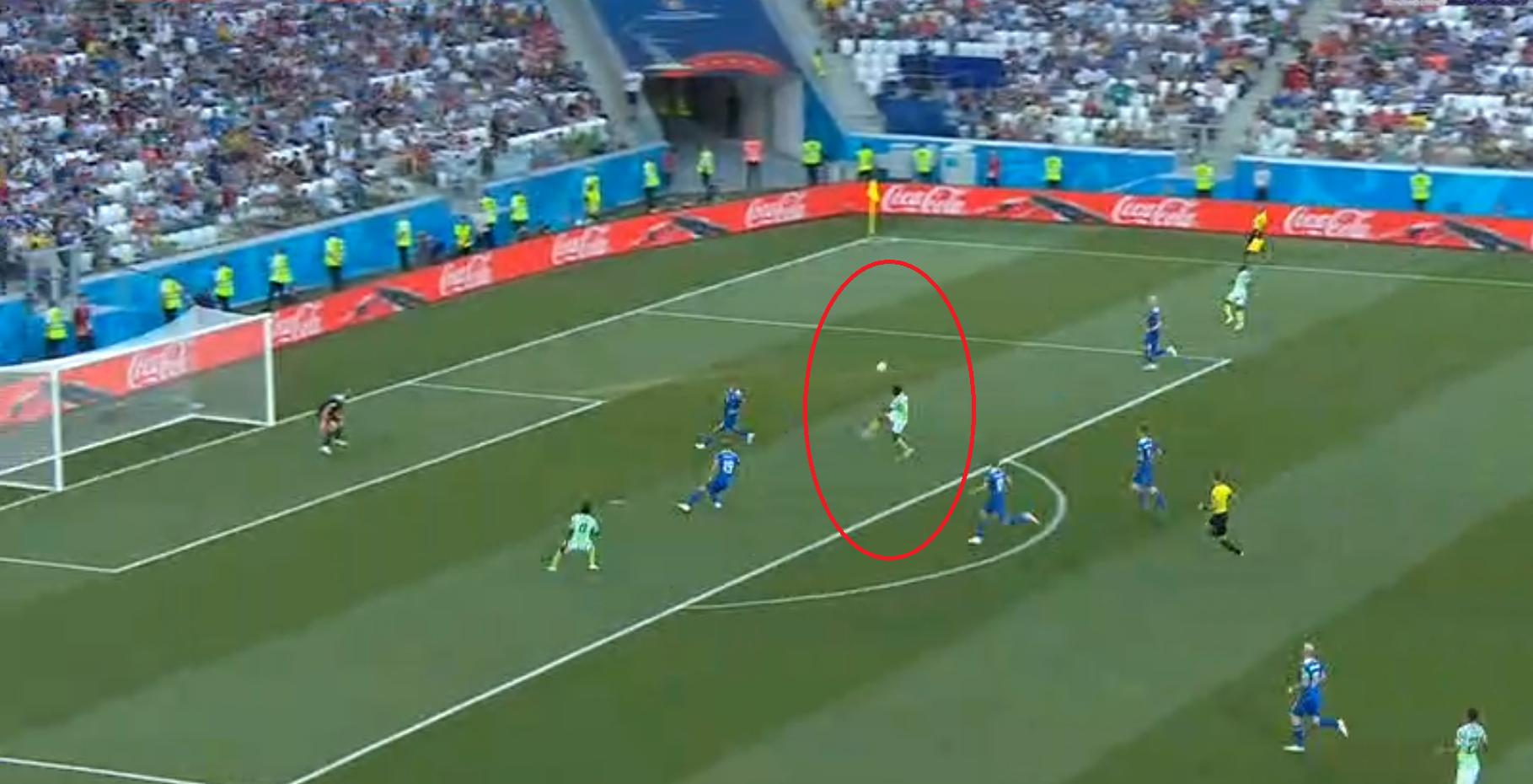 Football - Coupe du monde - Coupe du monde 2018 : le magnifique enchaînement de Musa sur le premier but en vidéo