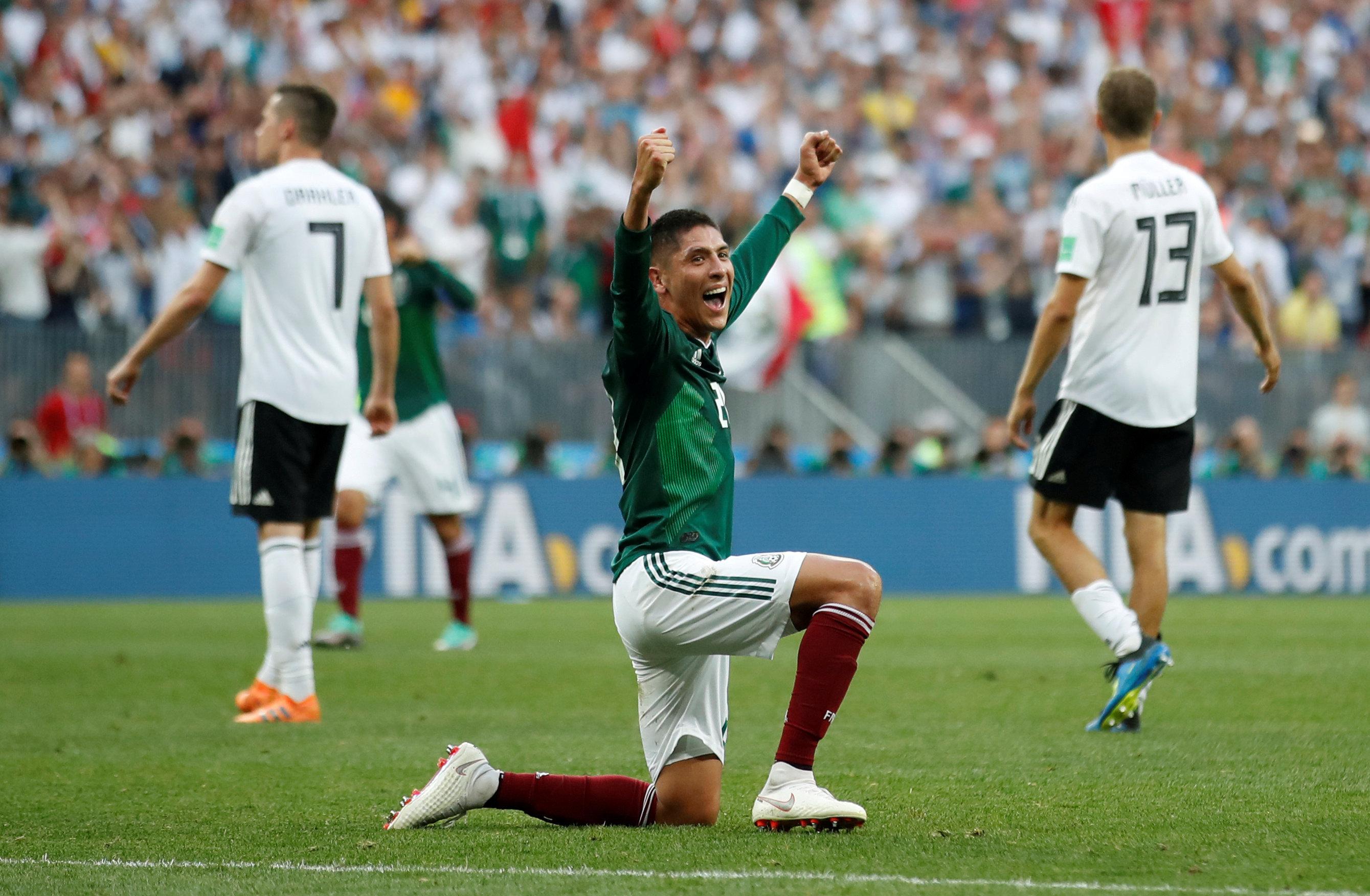 Football - Coupe du monde - Coupe du monde 2018 : Le Mexique crée la première sensation en battant l'Allemagne