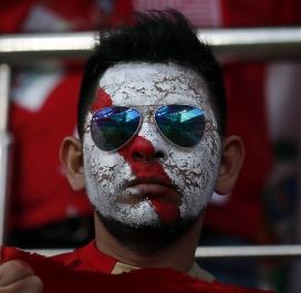 Supporter péruvien