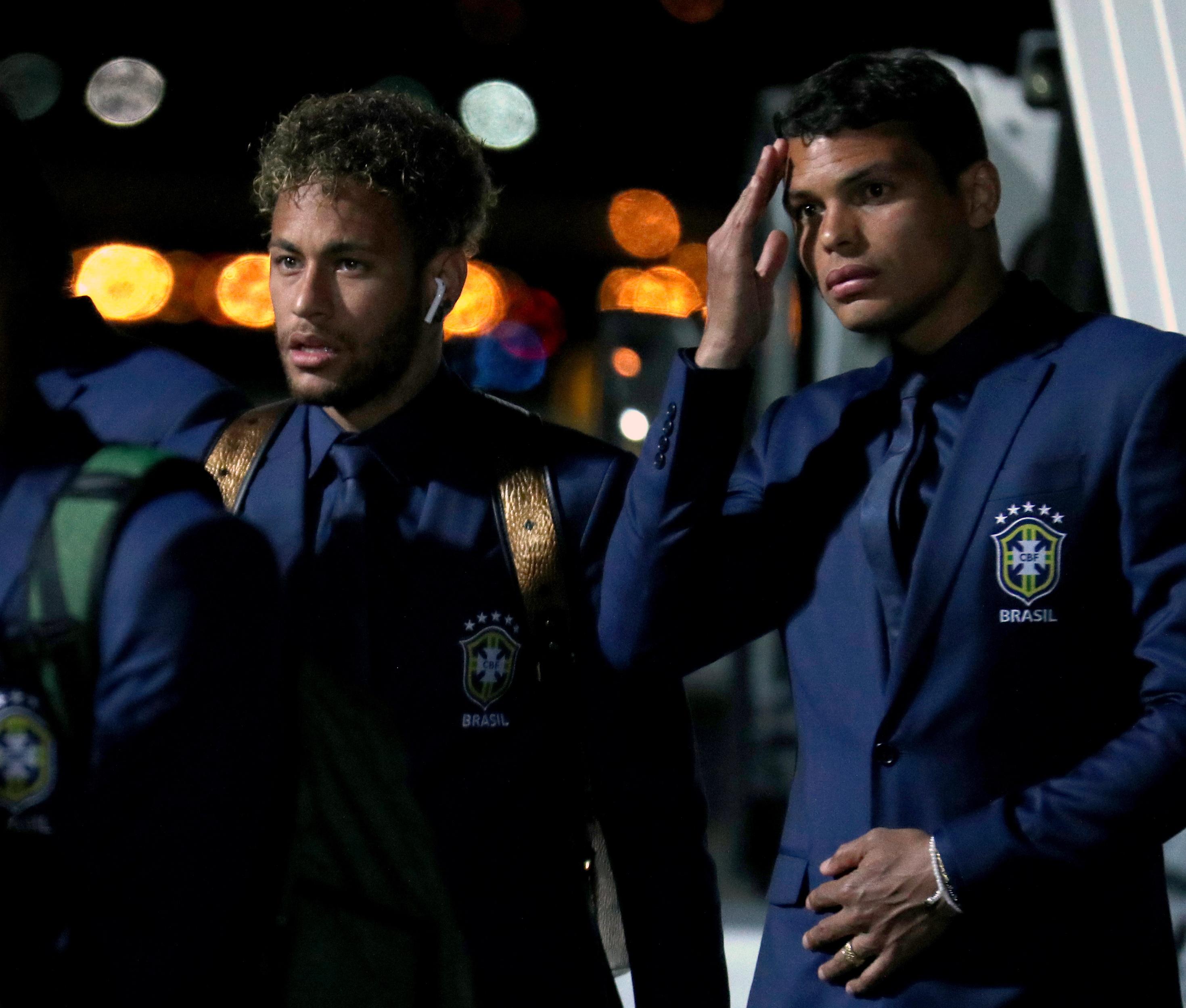 Football - Coupe du monde - Coupe du monde 2018 : Thiago Silva insulté par Neymar