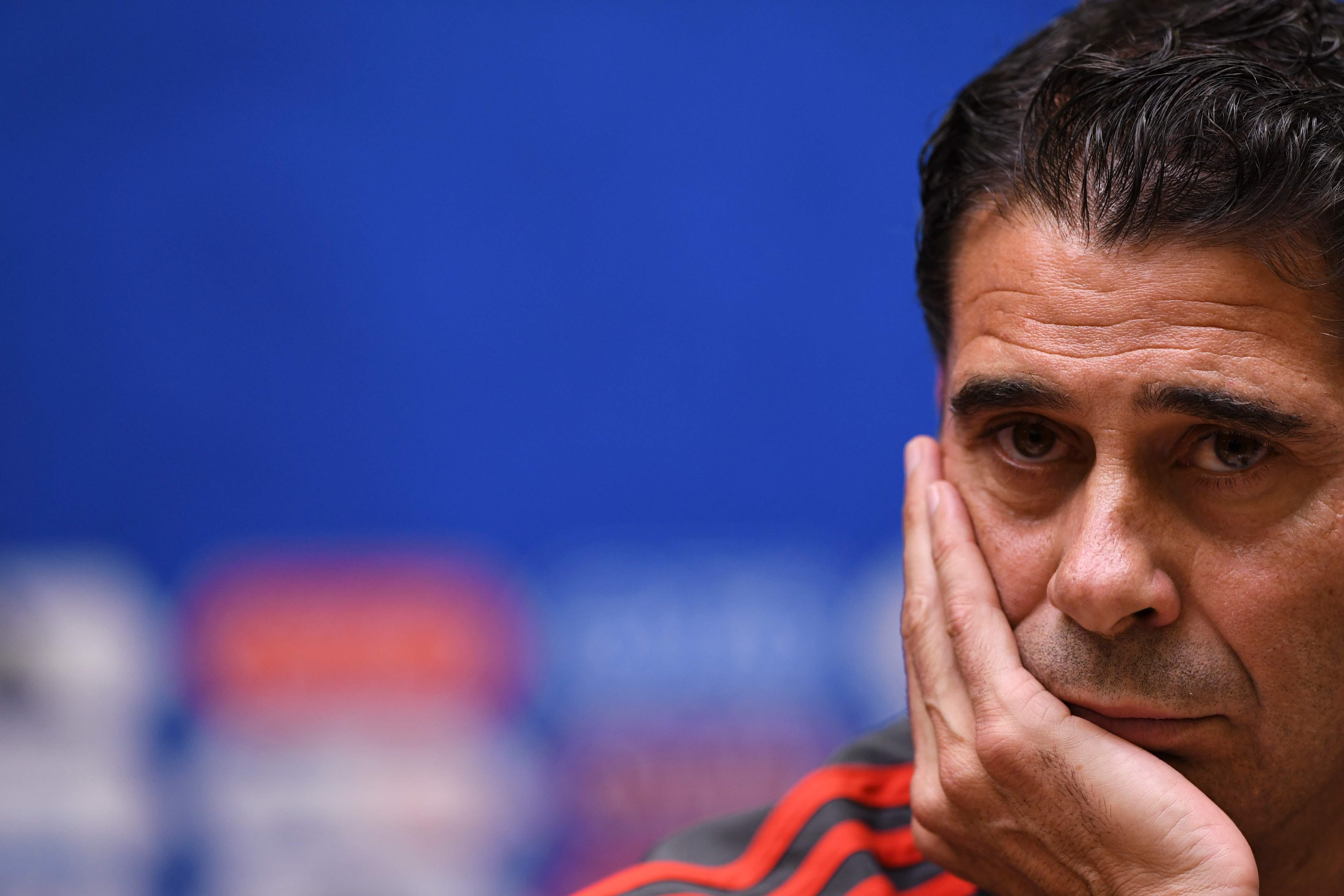 Football - Coupe du monde - Fernando Hierro n'est plus sélectionneur de la Roja