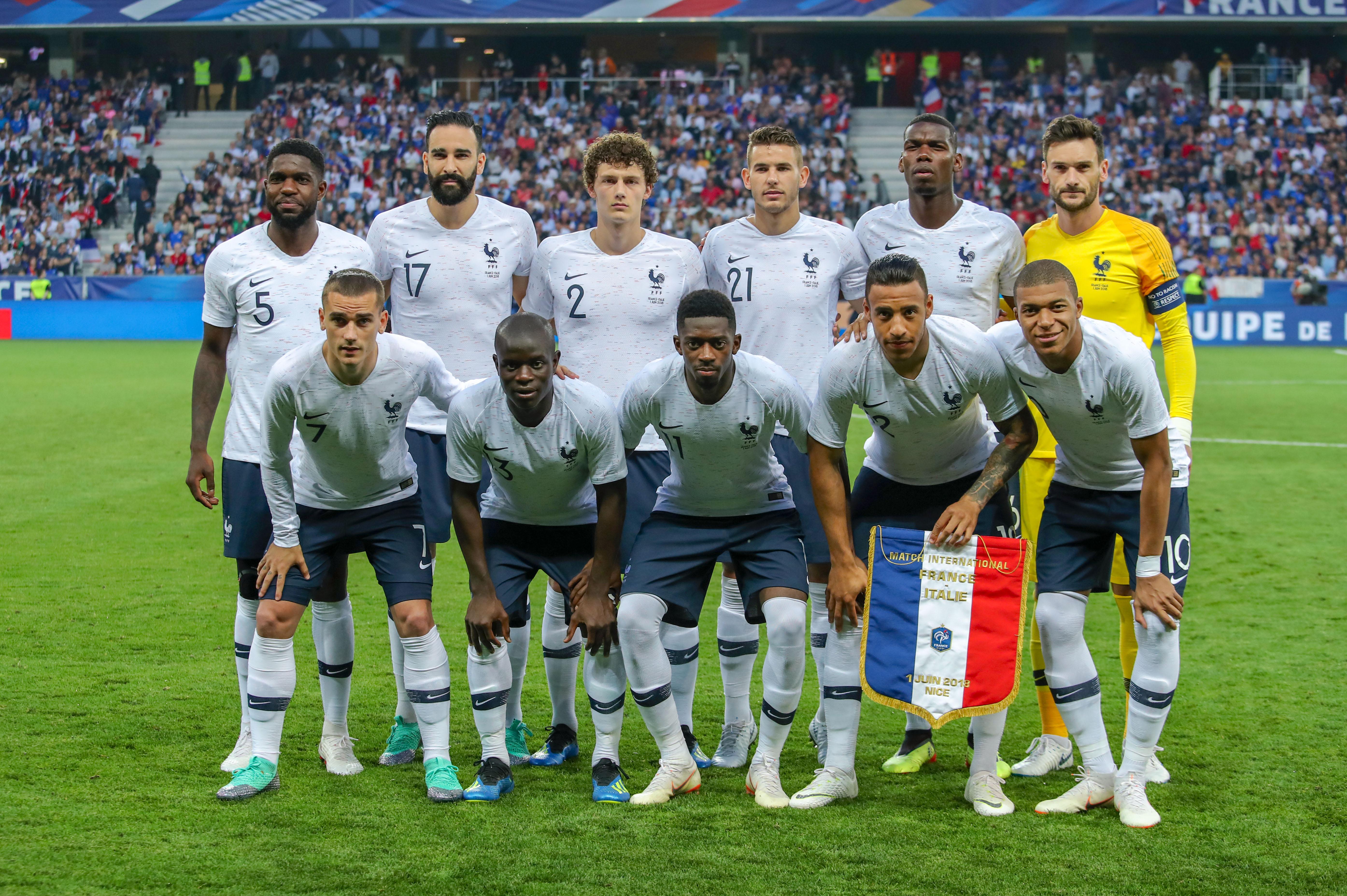 France australie un premier examen d j crucial pour la jeunesse bleue russie 2018 coupe - 1er coupe du monde de football ...