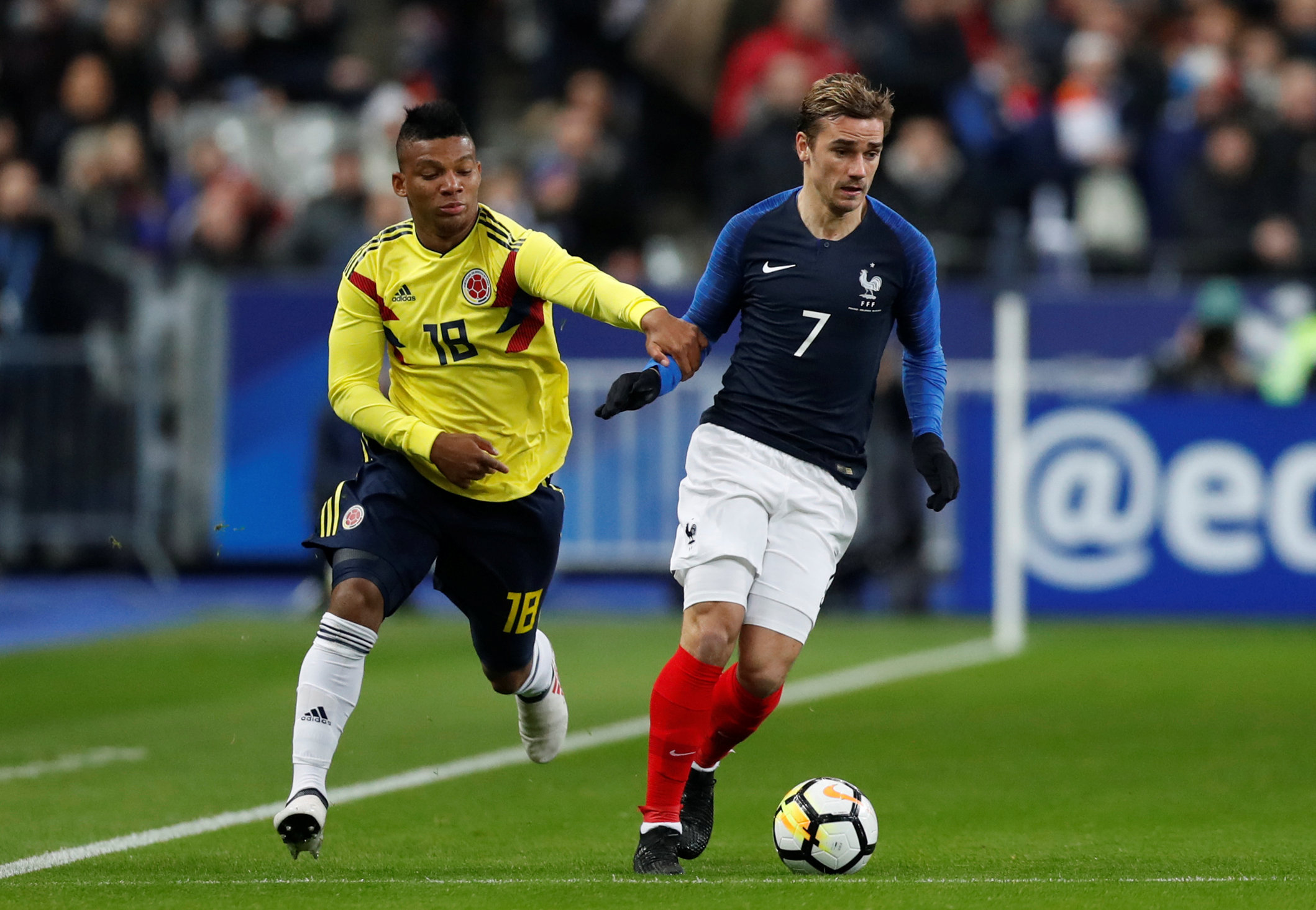 Revivez le match amical france colombie russie 2018 coupe du monde football - Jeux de foot match coupe du monde ...
