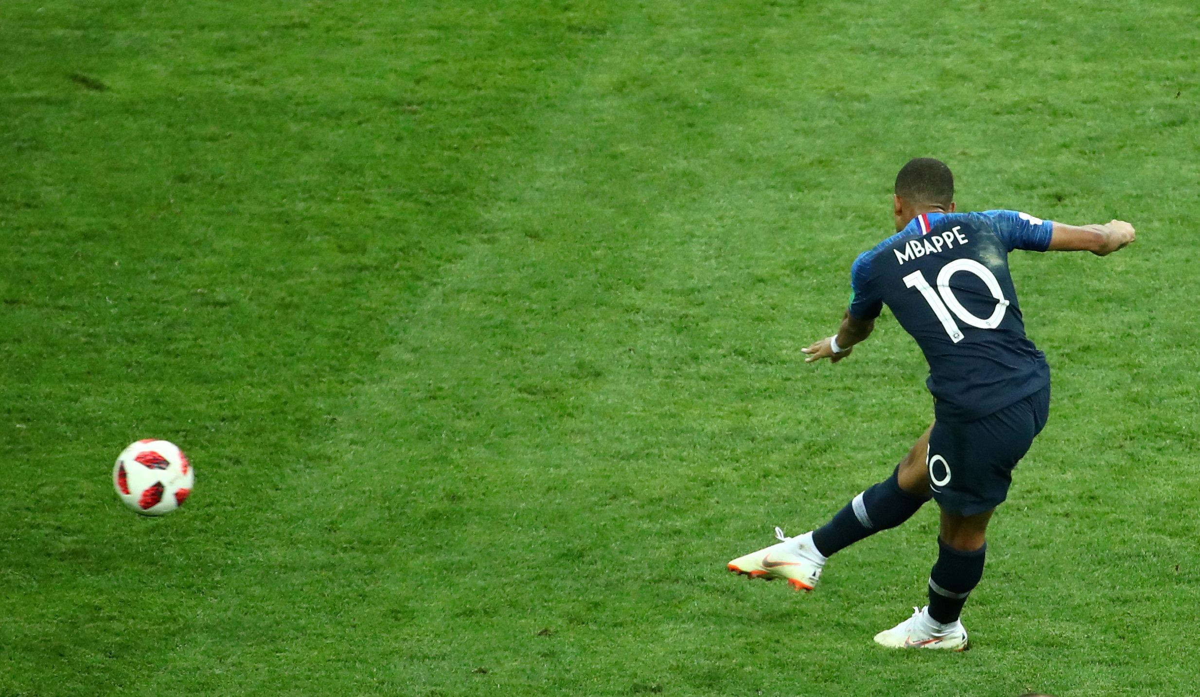 France croatie les plus belles images de la finale de la - Finale de la coupe de france de football ...