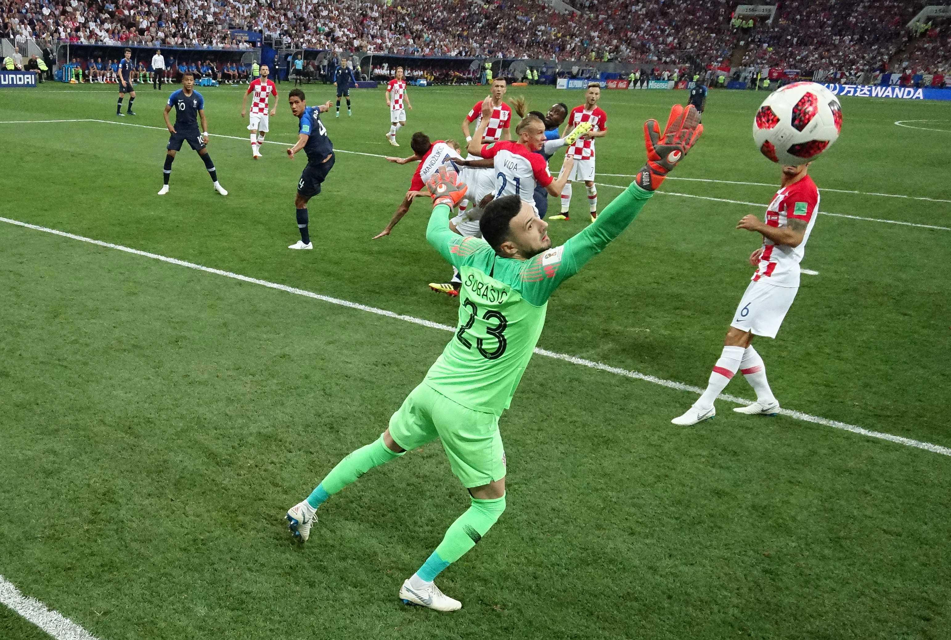 France croatie les buts et le r sum de la finale de la - Finale de la coupe de france de football ...
