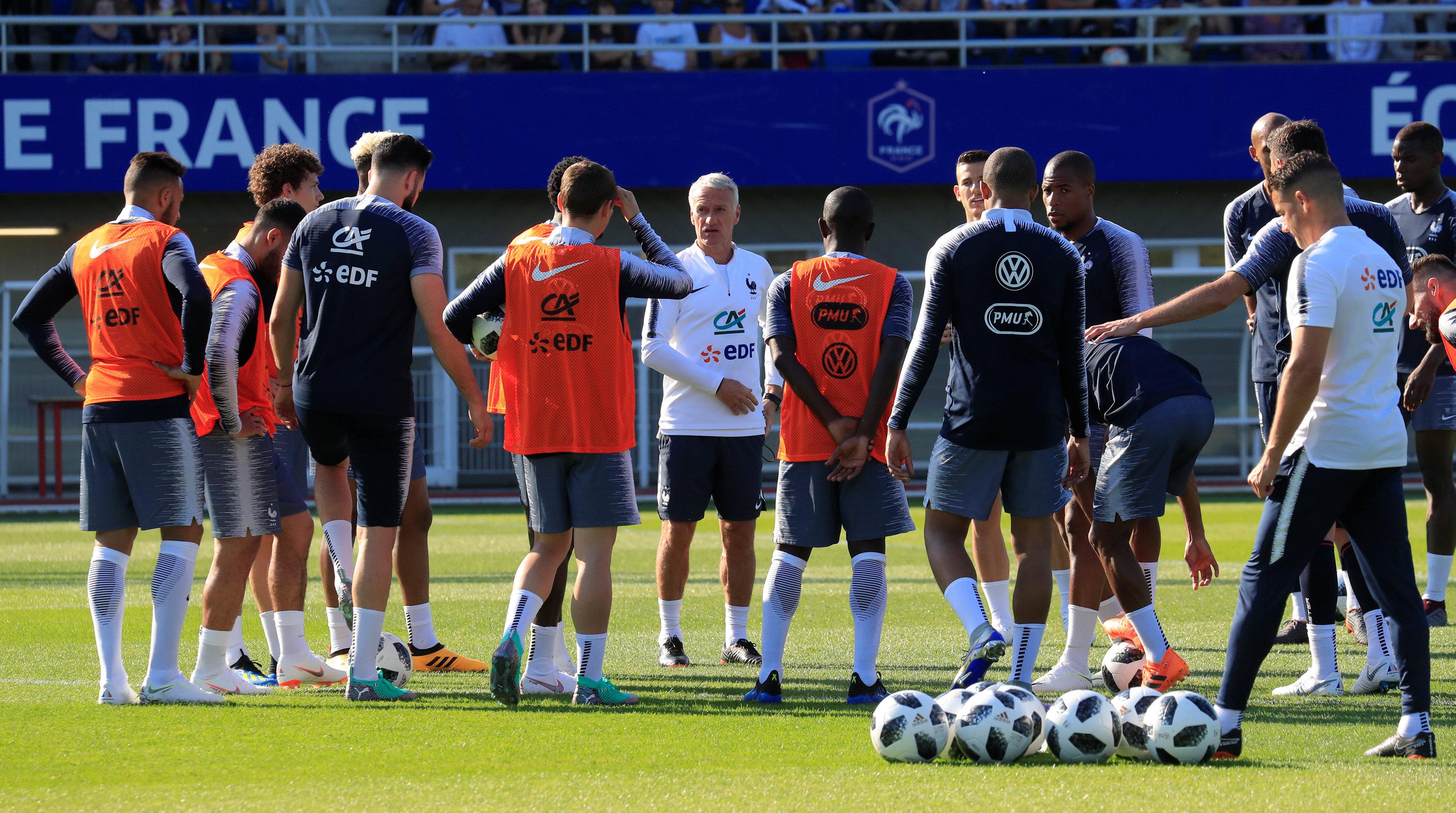 Football - Coupe du monde - France-Irlande: première (vraie) répétition pour les Bleus