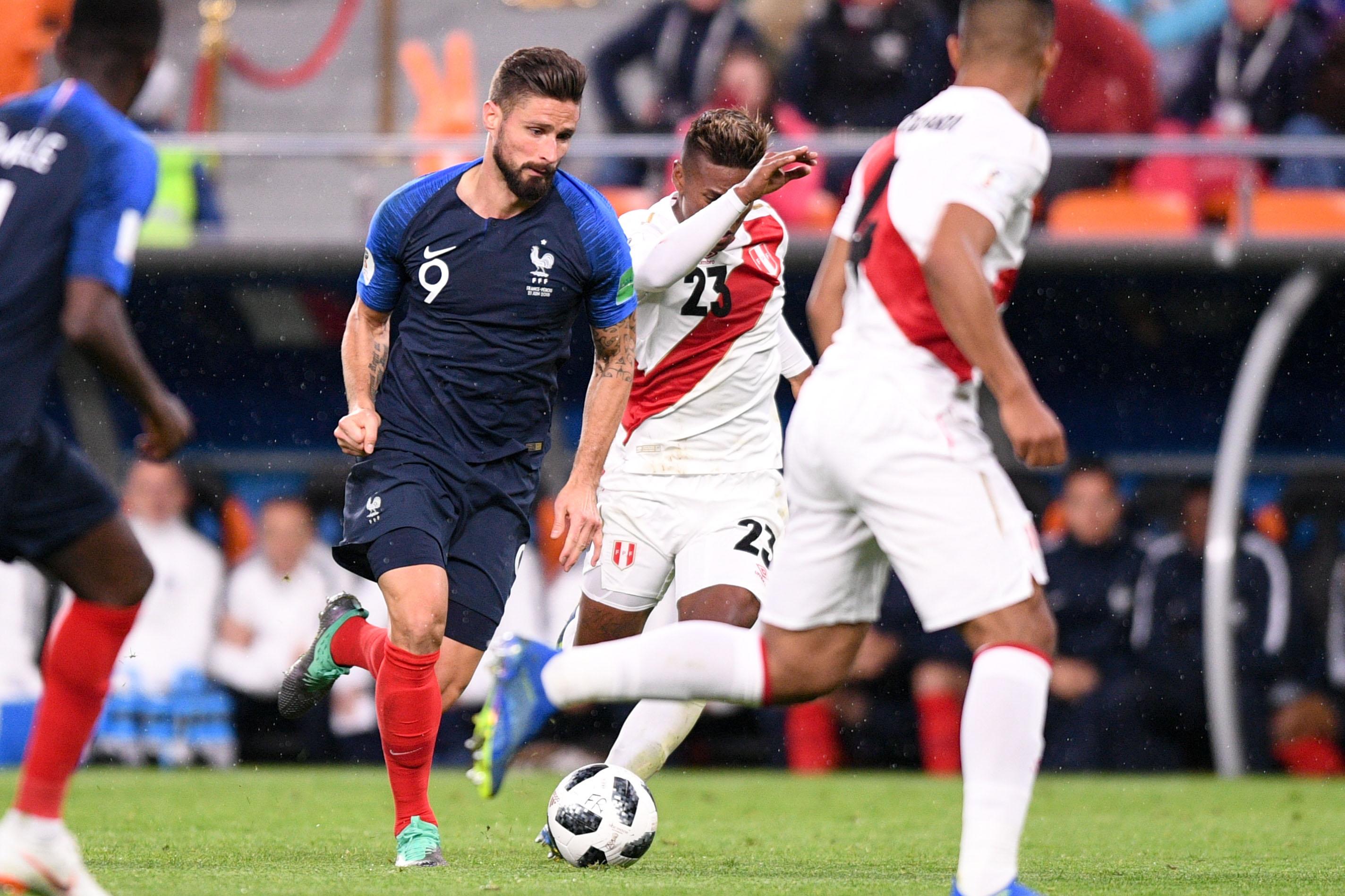 Giroud apr s la victoire contre le p rou un match qui va compter russie 2018 coupe du - Hand ball coupe du monde ...