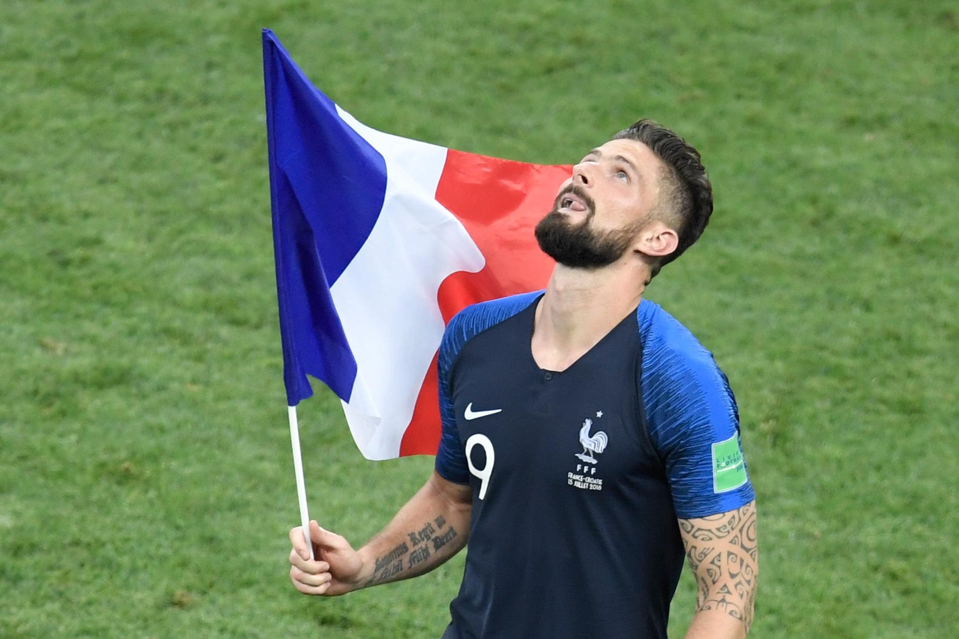 Football - Coupe du monde - Giroud: «J'ai tout donné pour l'équipe»
