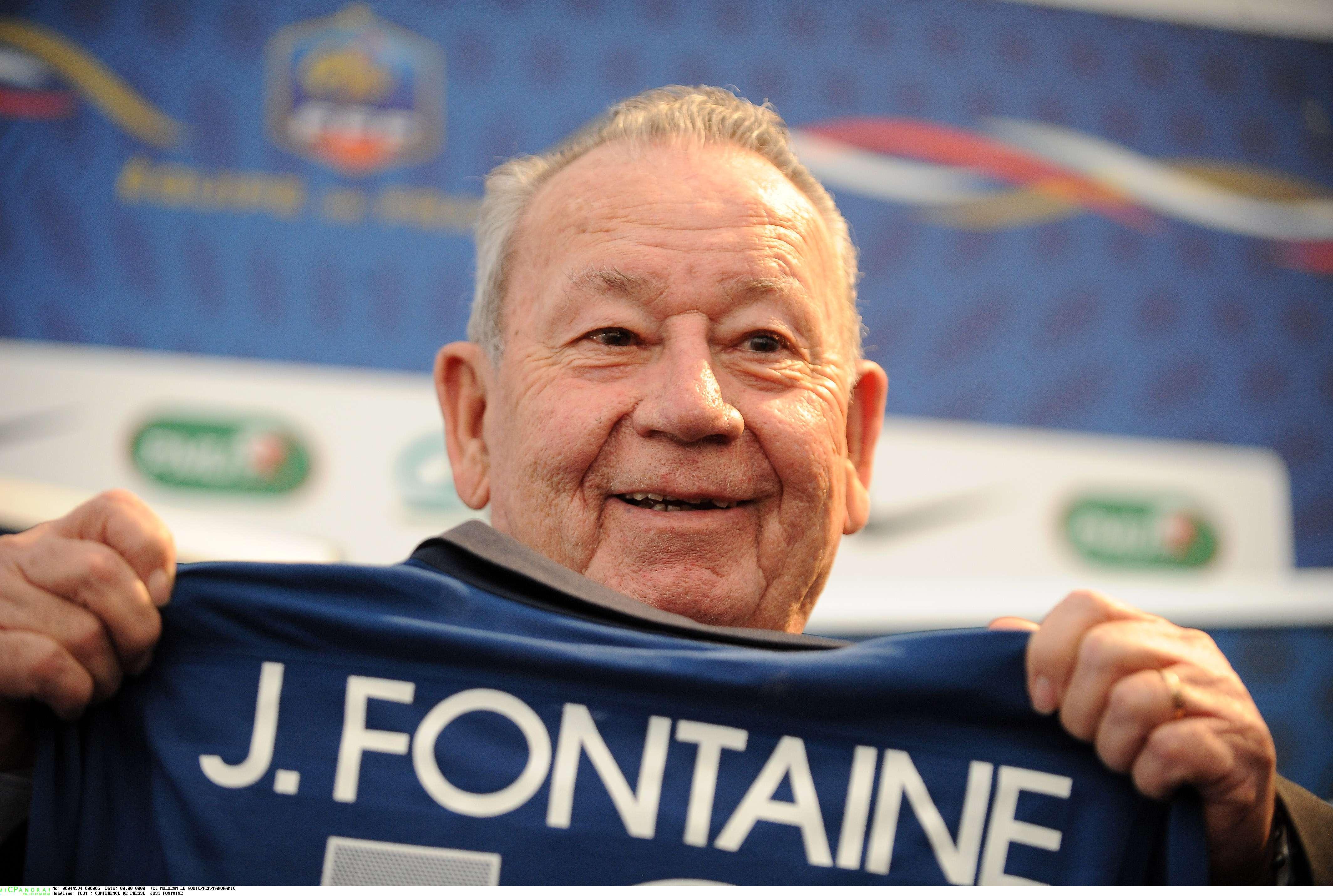 Football - Coupe du monde - Just Fontaine, recordman et buteur pour l'éternité