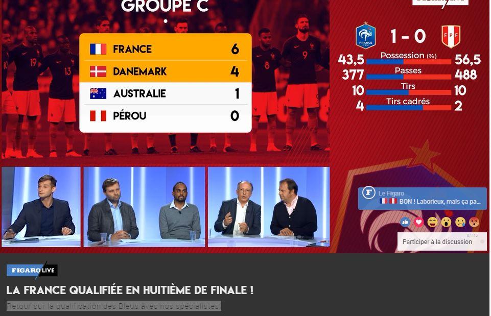 Football - Coupe du monde - Le debrief de France-Pérou avec nos spécialistes