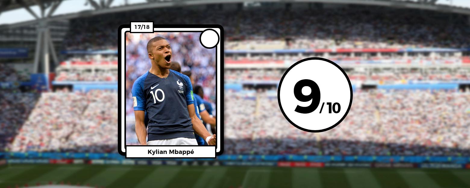 Football - Coupe du monde - Les notes des Bleus après France-Argentine : Mbappé majestueux, Griezmann fabuleux, Pogba somptueux