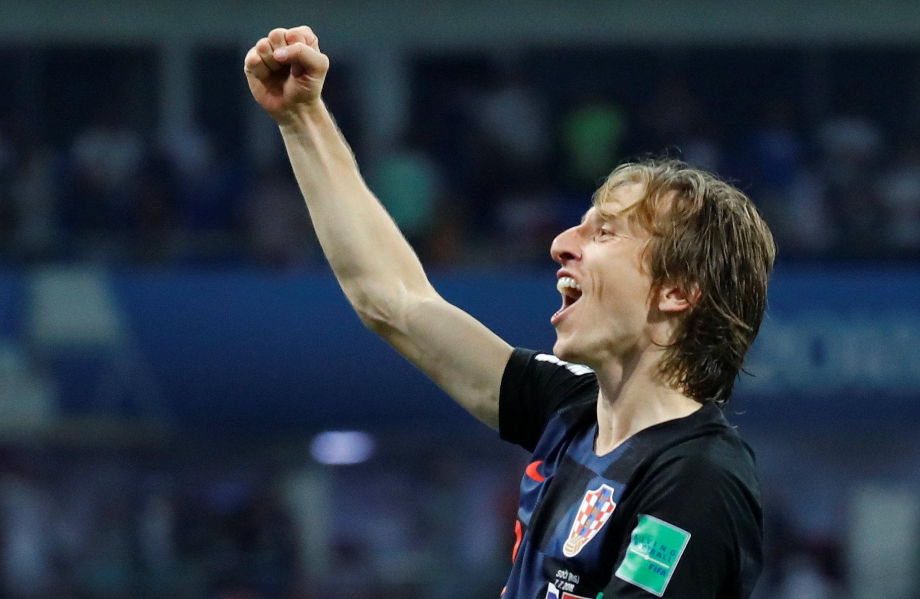 Football - Coupe du monde - Luka Modric, le Mozart des Balkans
