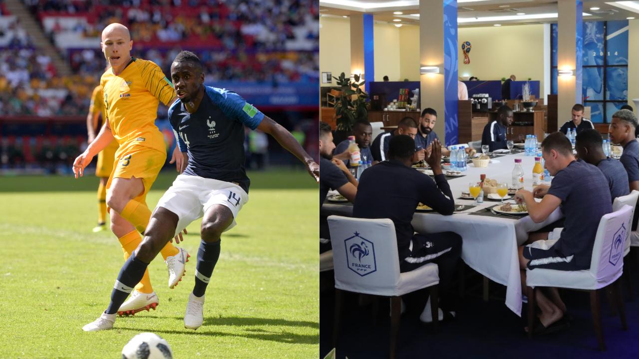 Coupe du monde 2018 matuidi raconte une journ e de match avec les bleus russie 2018 coupe - Resultats coupe du monde handball ...