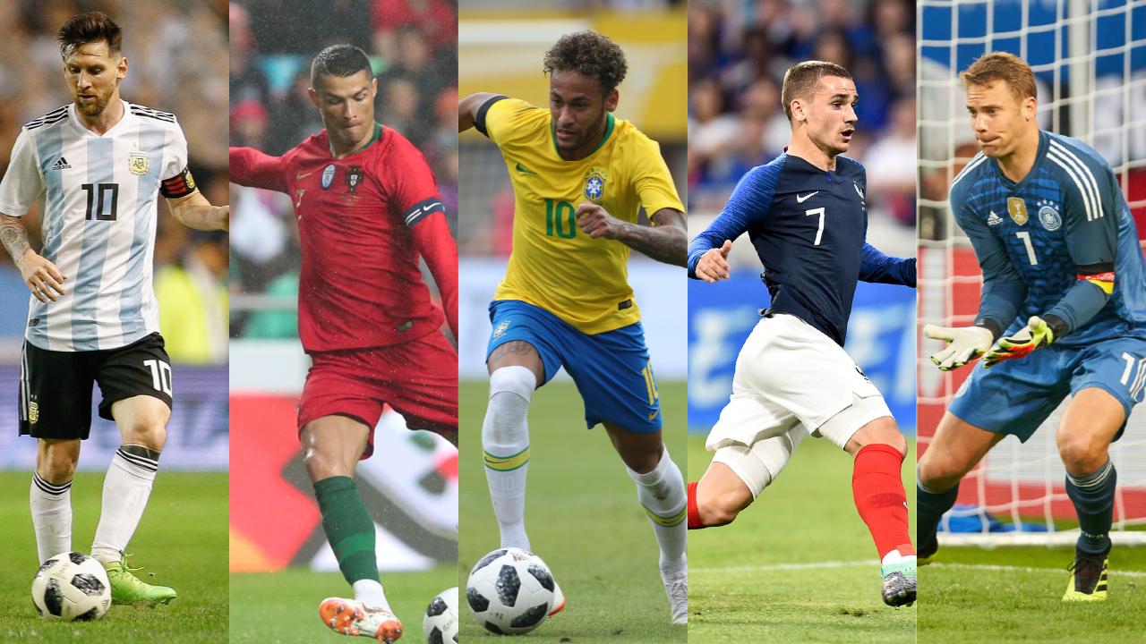Football - Coupe du monde - Mondial 2018 : Cinq stars pour un trophée de légende