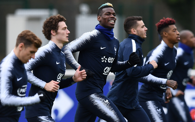 Pogba compte sur les bleus pour se refaire la sant russie 2018 coupe du monde football - Coupe du monde resultats ...