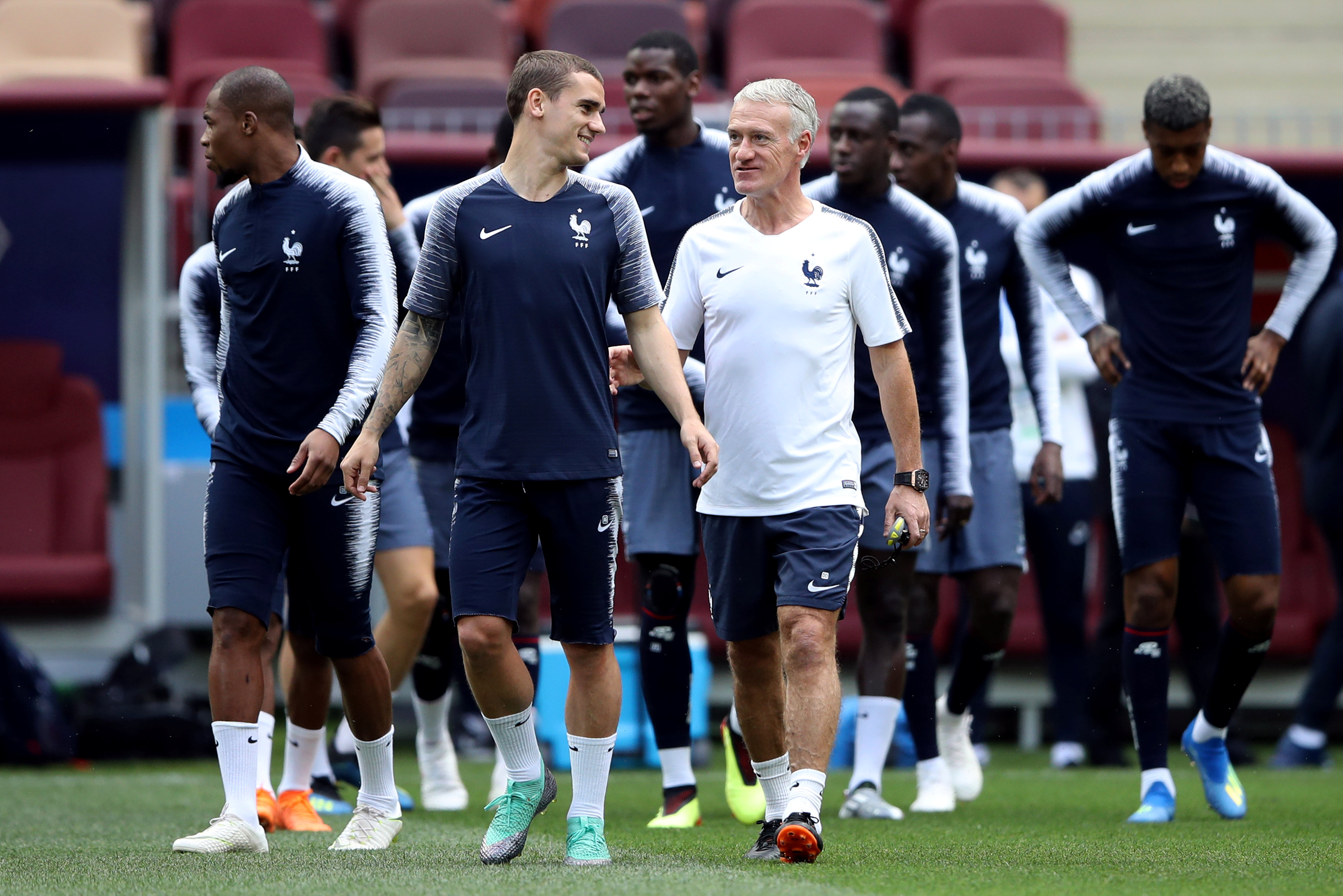 Football - Coupe du monde - Quels Bleus contre le Danemark ? Deschamps «brouille» les pistes