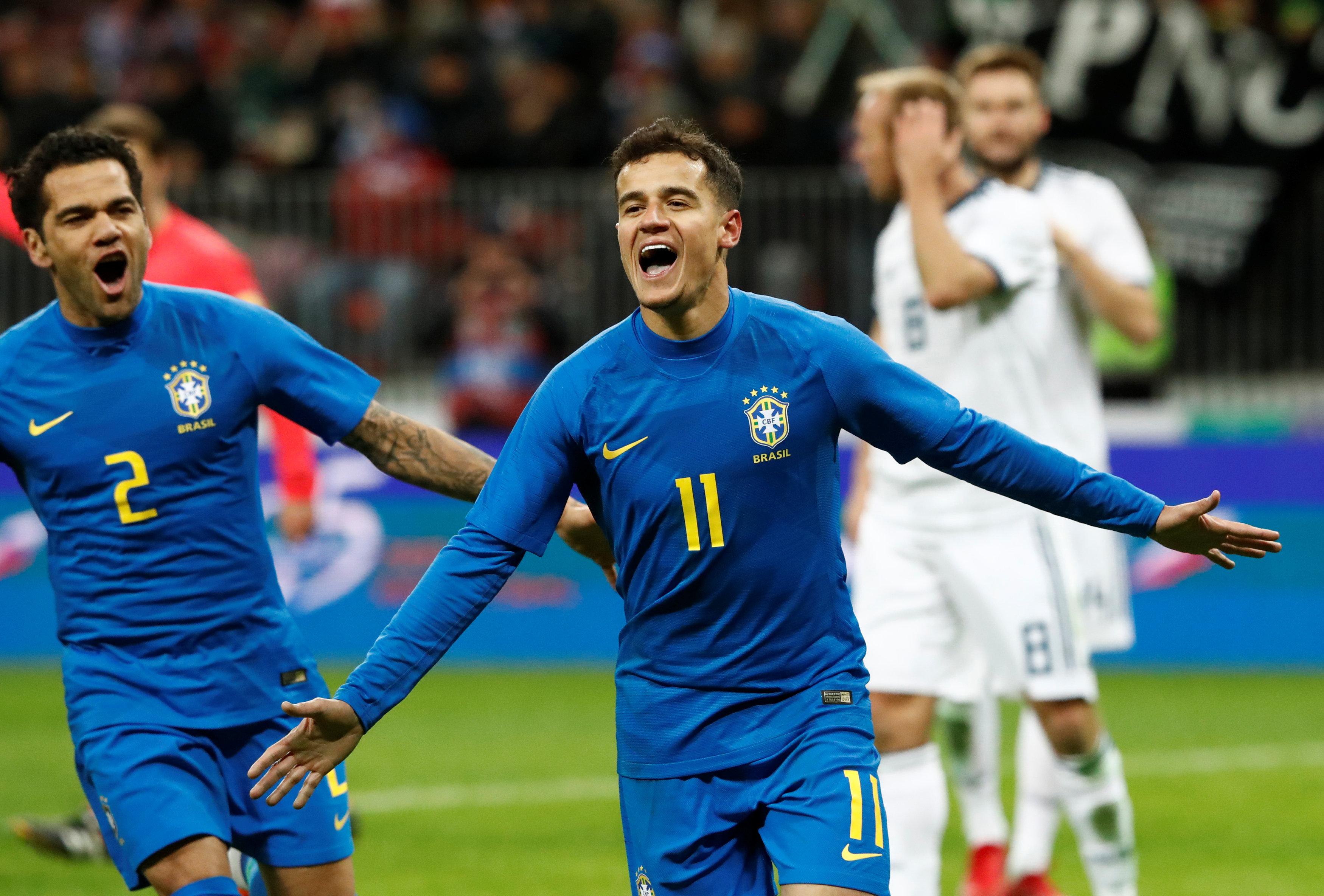 M me sans neymar le br sil trop fort pour la russie russie 2018 coupe du monde football - Coupe du monde resultats ...