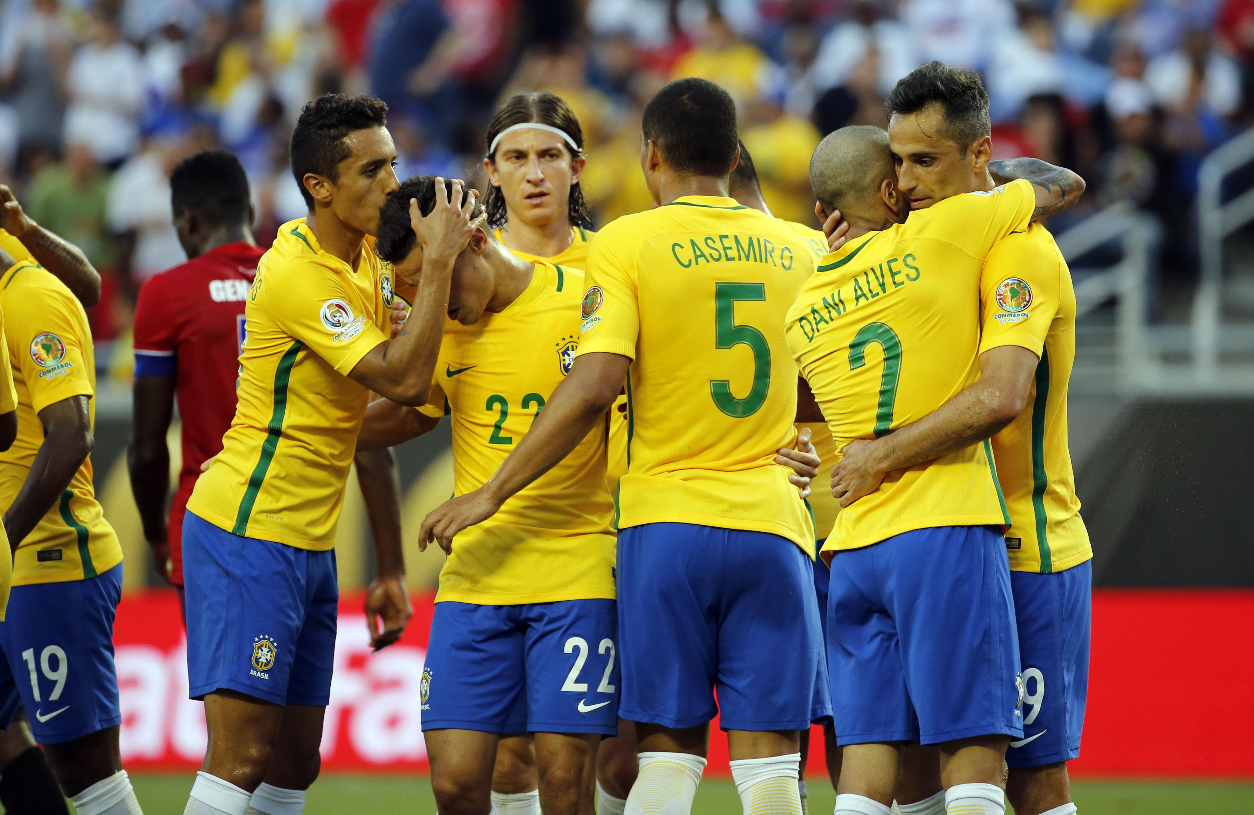 Football - Coupe du monde - Russie-Brésil : première répétition sans Neymar