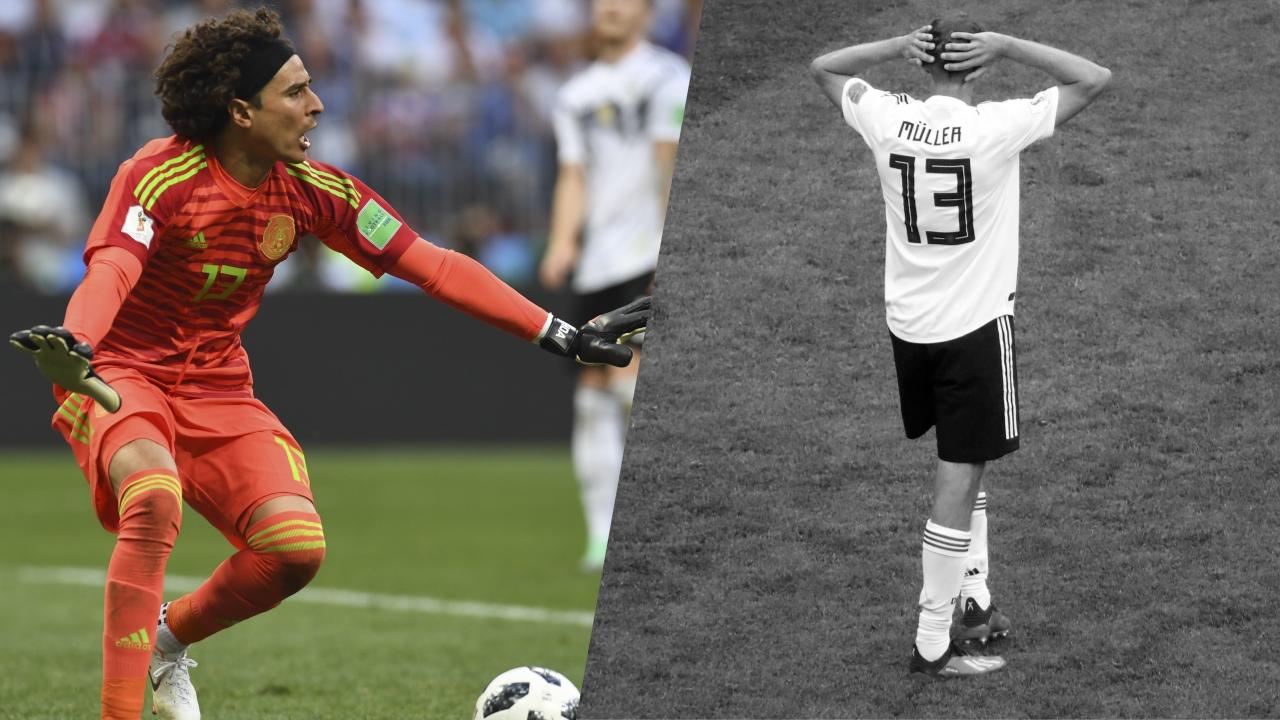 Football - Coupe du monde - Tops/Flops Allemagne-Mexique : La combativité mexicaine, les approximations allemandes