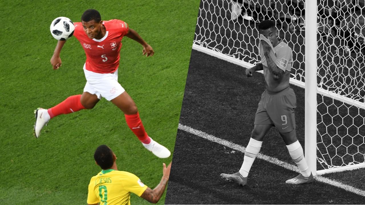 Football - Coupe du monde - Tops/Flops Brésil-Suisse : la solidité d'Akanji, la maladresse de Gabriel Jesus