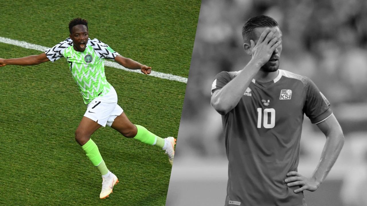 Football - Coupe du monde - Tops/Flops Nigeria-Islande : le Musa show, Sigurdsson passe au travers