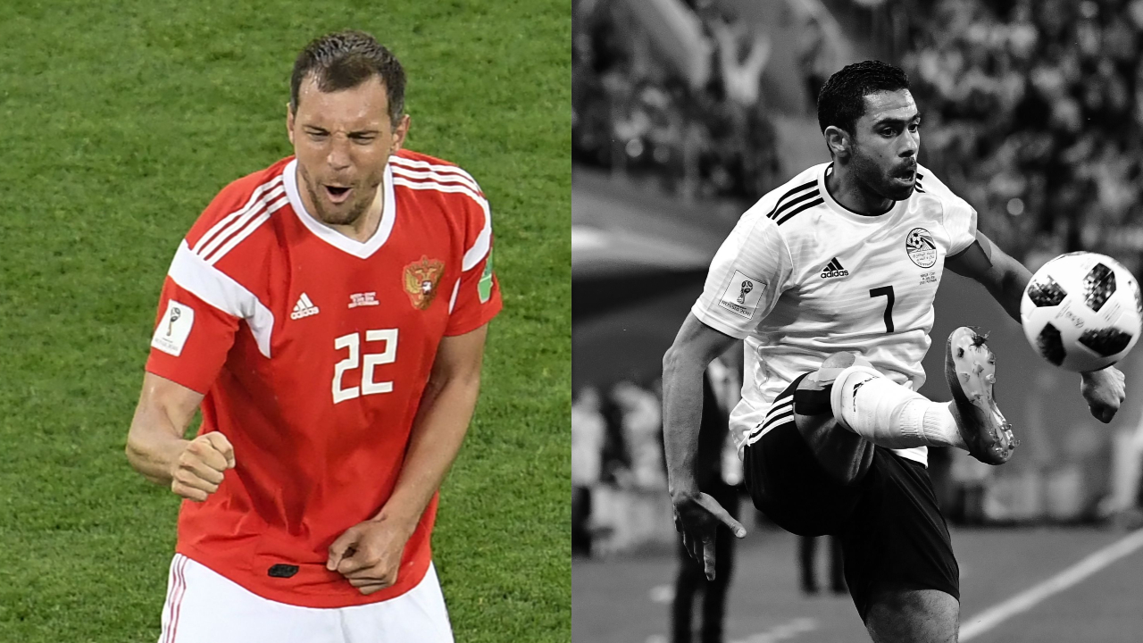 Football - Coupe du monde - Tops/Flops Russie-Égypte: Dzyuba étincelant, Fathy maladroit