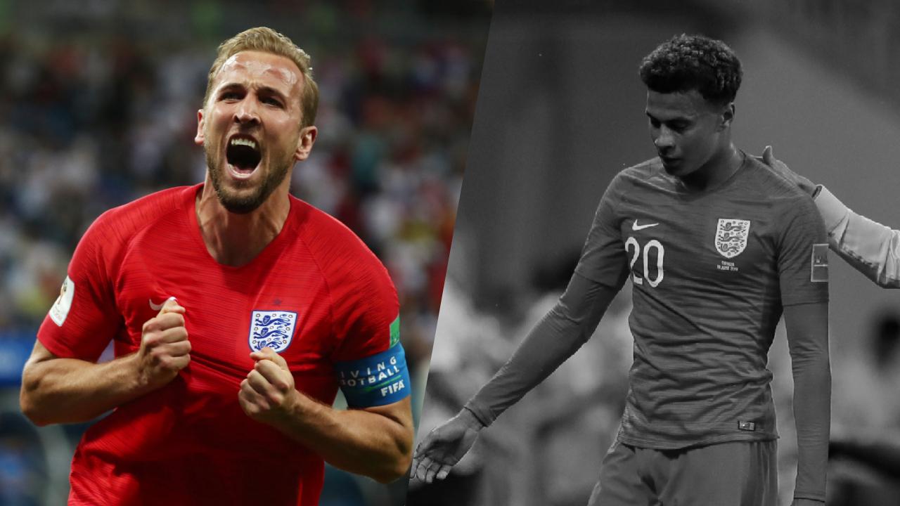 Football - Coupe du monde - Tops/Flops Tunisie-Angleterre: Kane frappe fort d'entrée, Alli déçoit