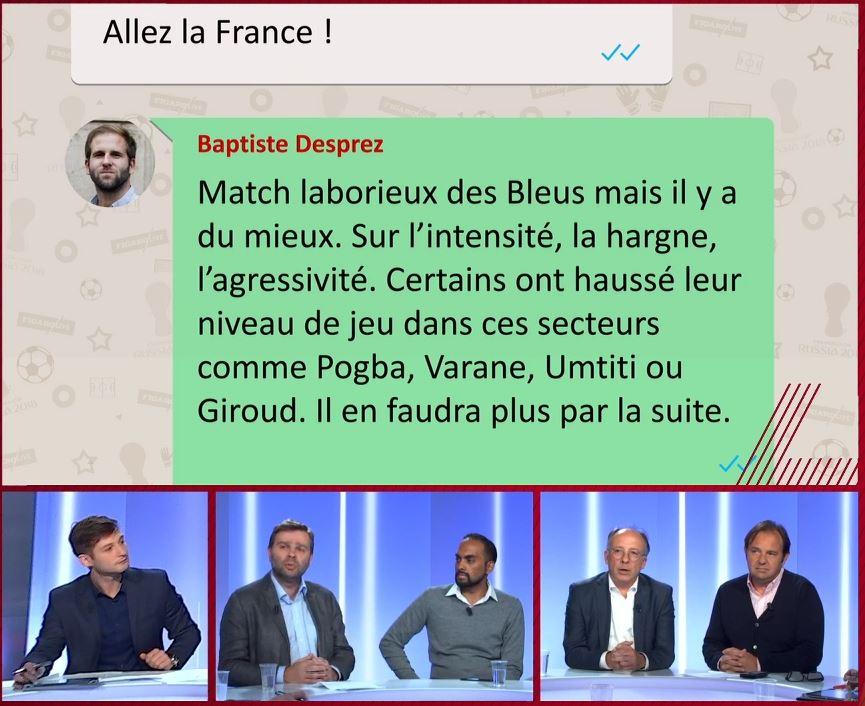 Football - Coupe du monde - Yves Thréard : « Kanté, depuis Tigana, c'est le meilleur ! »
