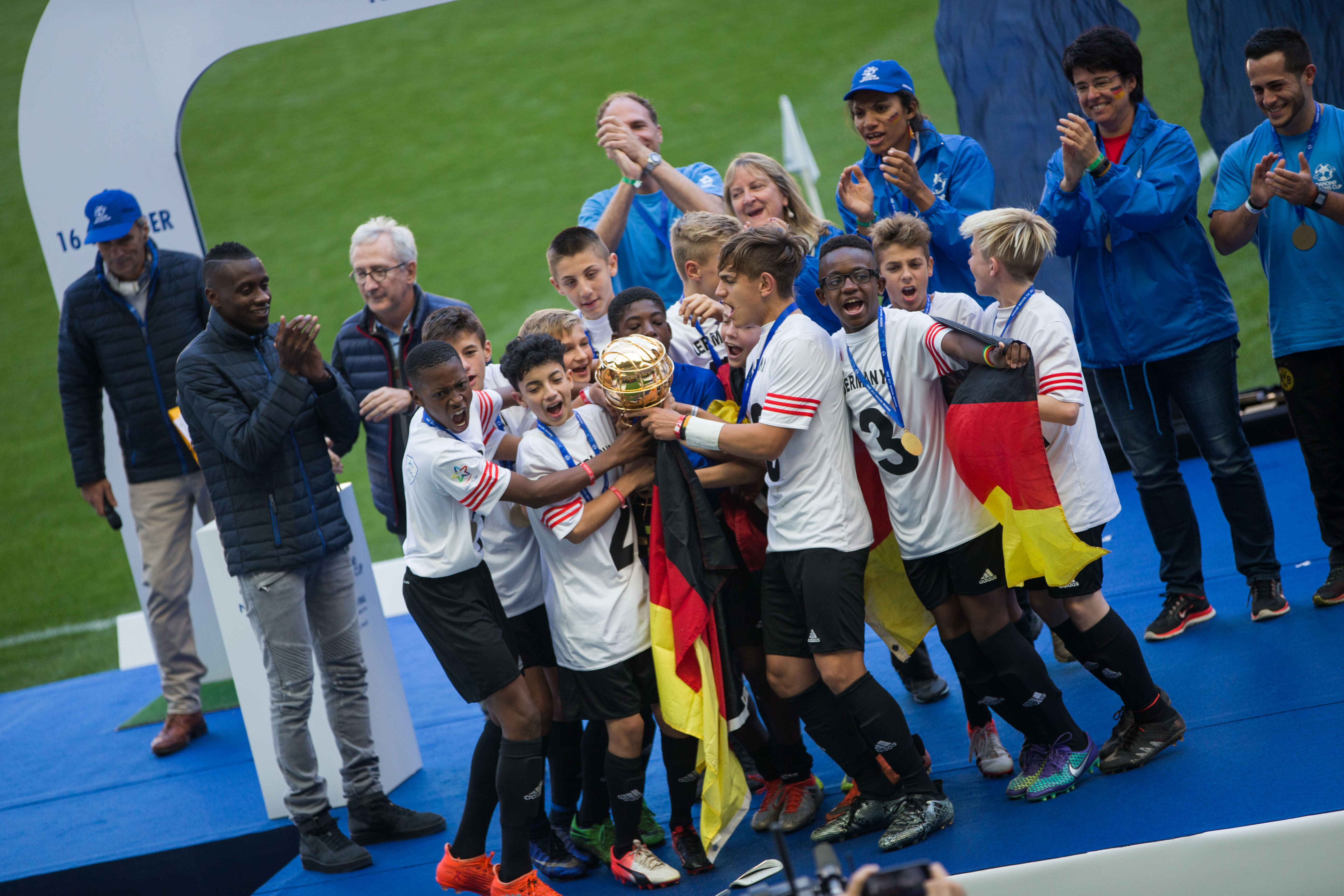 Football - Danone Nations Cup - L'Allemagne Championne