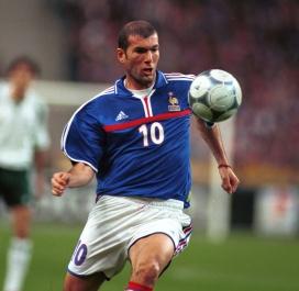 Zinédine Zidane - 108 sélections (1994-2006)