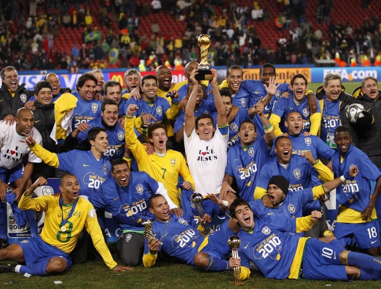 Coupe des conf d rations etats unis br sil football - Coupe des confederations 2009 ...