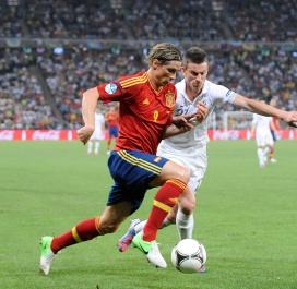 Euro 2012, première compétition officielle