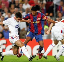 2007-2008 : Barcelone-Lyon (3-0)