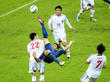 France-Japon : Giroud acrobatie