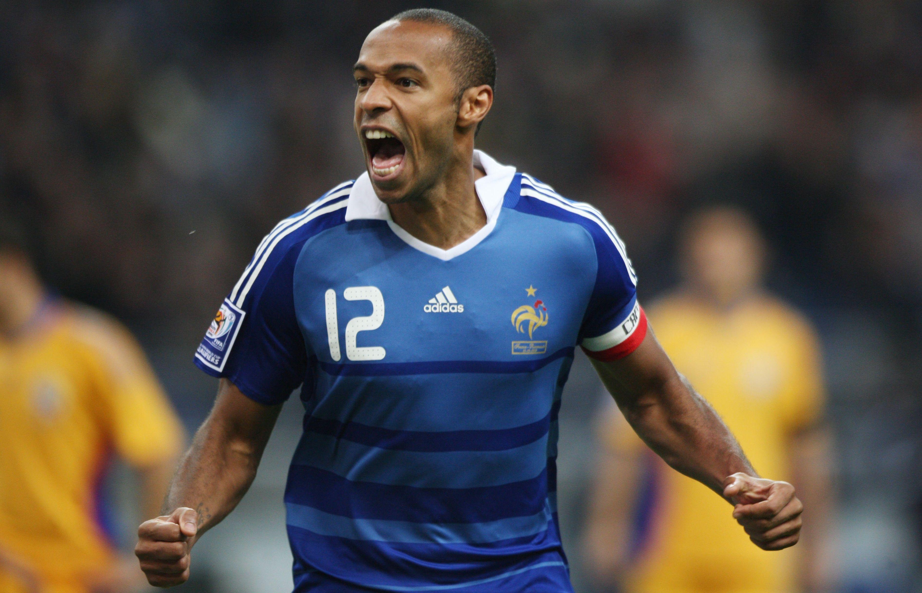 Football - Henry, Zidane, Platini : Giroud dans le Top 10 des meilleurs buteurs français