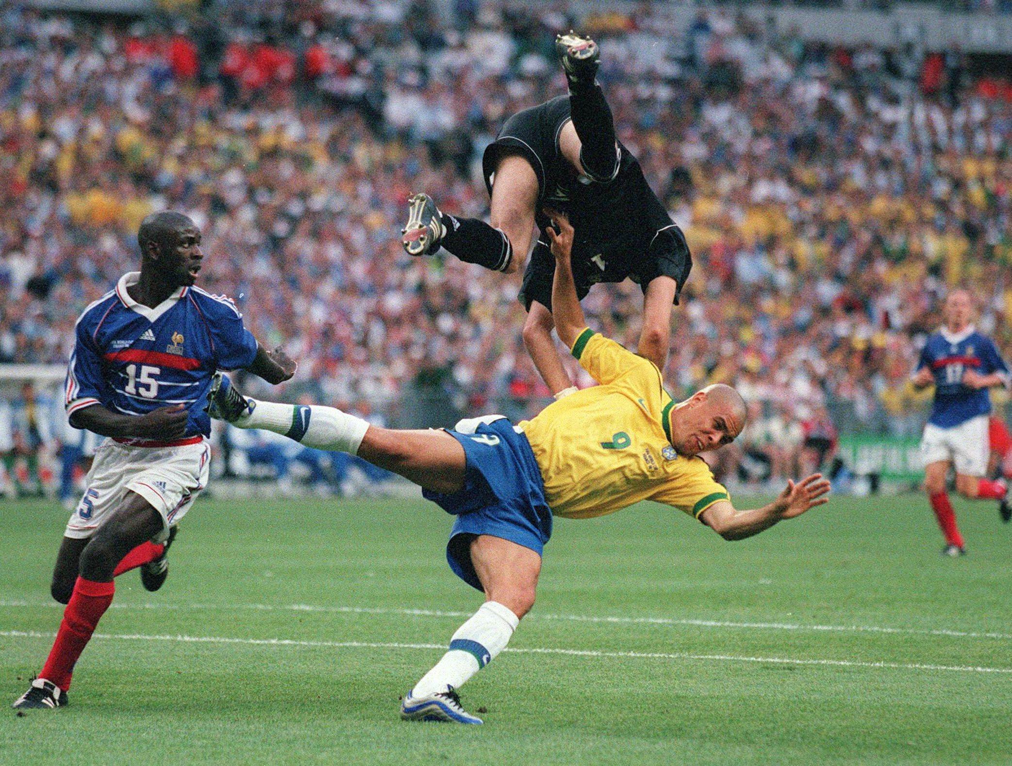 Historique france br sil en images football - Tous les buts coupe du monde 1998 ...