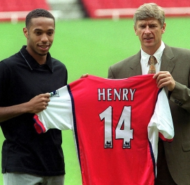 Wenger et Thierry Henry