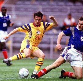 10 juin 1996 : France-Roumanie (1-0)