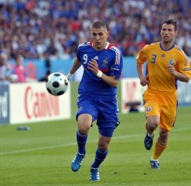 9 juin 2008 : Roumanie-France (0-0)