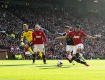 Manchester United-Southampton, Van Persie
