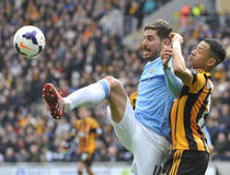 Hull-City : Javi Garcia