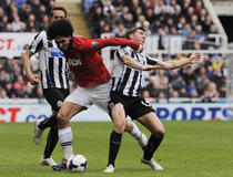 Newcastle-Manchester United : Fellaini