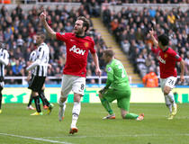 Newcastle-Manchester United : Mata