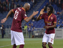 Maicon et Gervinho