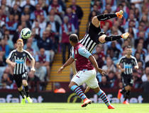 Aston Villa-Newcastle : chute